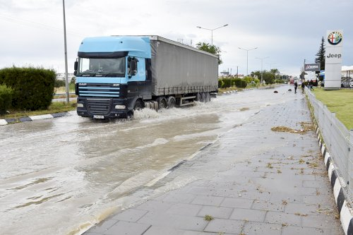 Roads  in Nicosia turned into rivers due to heavy rain - May 2020