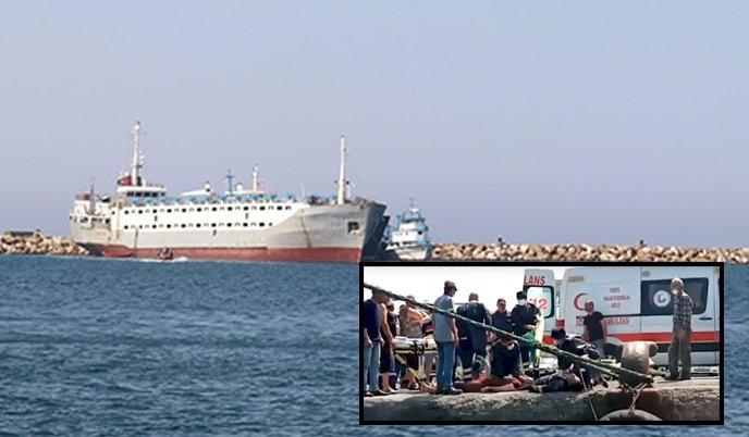 Two die in port tragedy