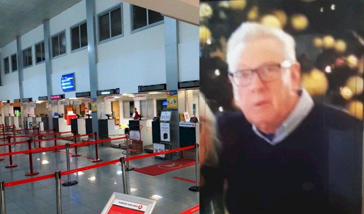 Pensioner deported over test paper blunder