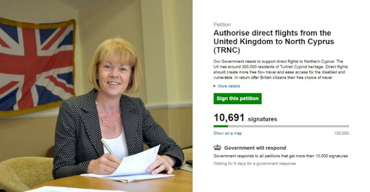 Direct flights petition aiming for 100k mark
