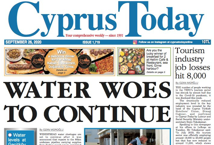 Cyprus Today 26 September 2020