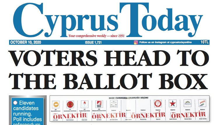 Cyprus Today 10 October 2020 PDF's