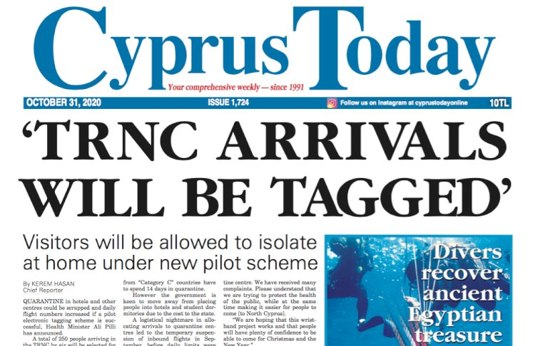 Cyprus Today 31 October 2020