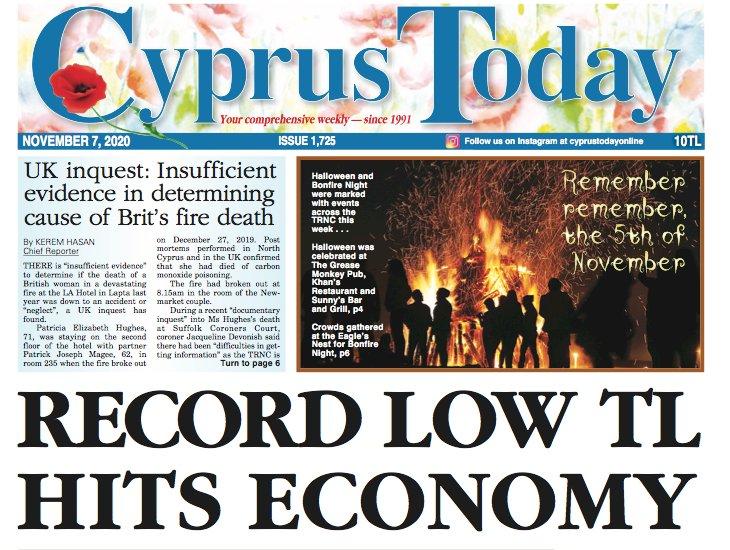 Cyprus Today 7 November 2020