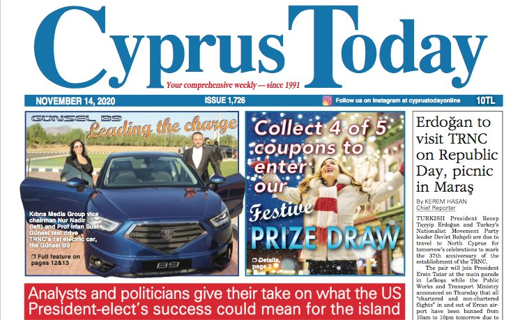 Cyprus Today 14 November 2020 PDF's