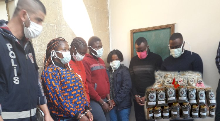 Police raids net 17 kilos of drugs