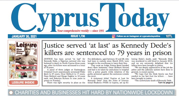 Cyprus Today 30 January 2021