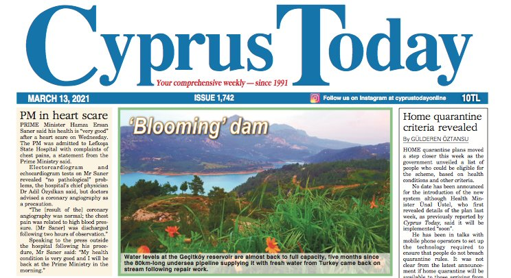Cyprus Today 13 March 2021 PDFs