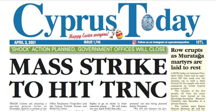 Cyprus Today 3 April 2021