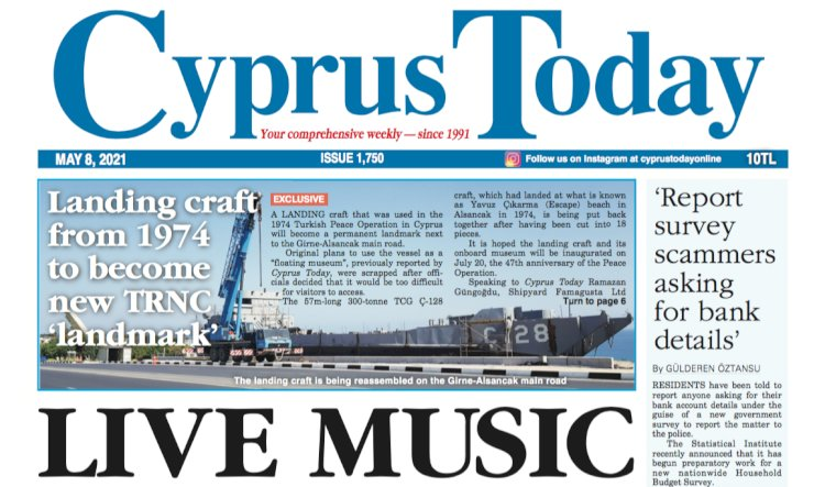 Cyprus Today 8 May 2021