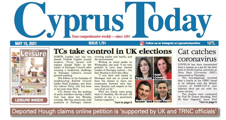 Cyprus Today May 15,2021