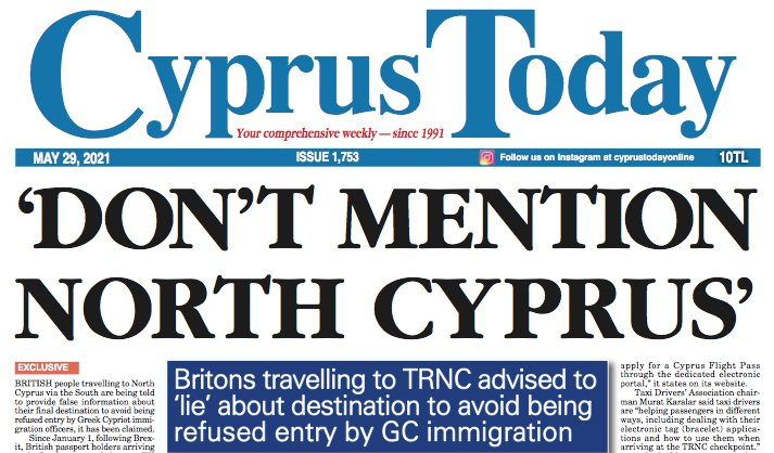 Cyprus Today 29 May 2021