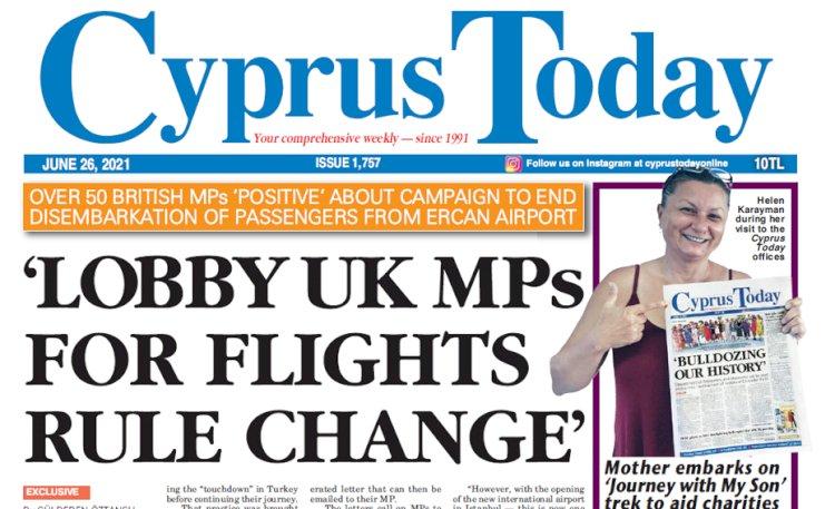 Cyprus Today 26 June 2021
