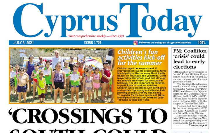 Cyprus Today 3 July 2021