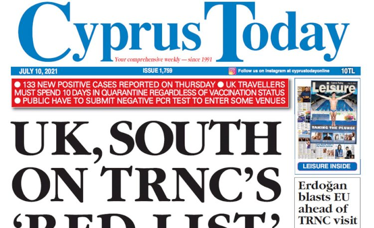Cyprus Today 10 July 2021
