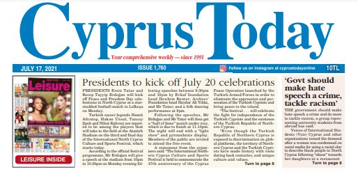 Cyprus Today July 17, 2021 PDFs